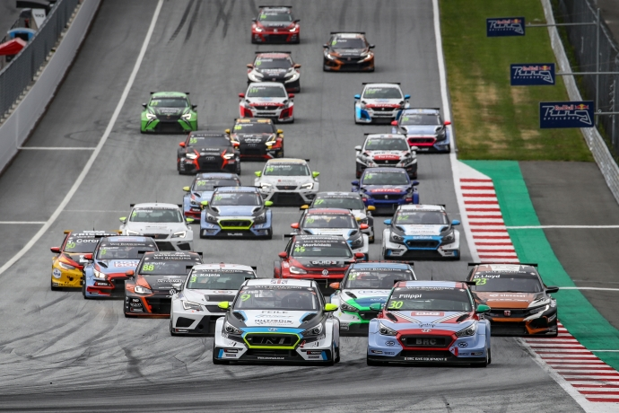 2019-2019 Red Bull Ring Race 1---2019 TCR EUR Red Bull Ring R1, start_32